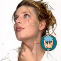 Q Frau mit Abb einer Schilddrüse1